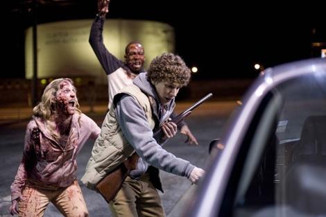 Jesse Eisenberg, en la película 'Zombieland'.