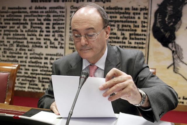 El gobernador del Banco de España, Luis María Linde. | Efe