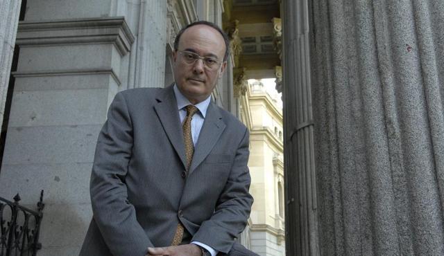 Luis María Linde, gobernador del Banco de España. | Rafa Martín