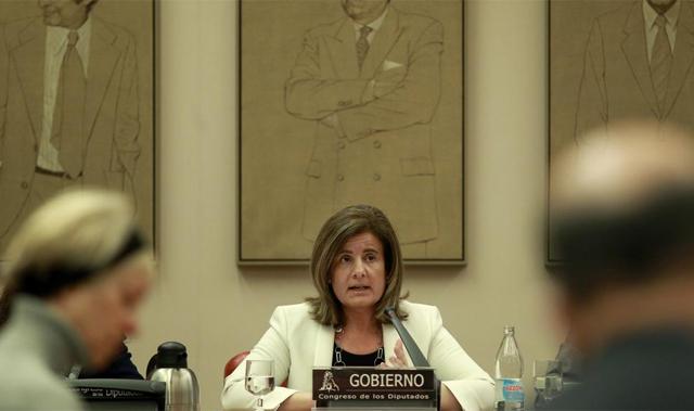 La ministra de Trabajo y Seguridad Social, Fatima Bañez. | Antonio Heredia