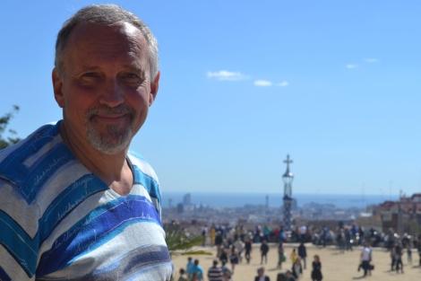 El escritor danés Jussi Olsen-Adler en Barcelona.   EL MUNDO