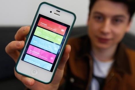 Nick D' Aloisio, el creador de Summly.| Reuters
