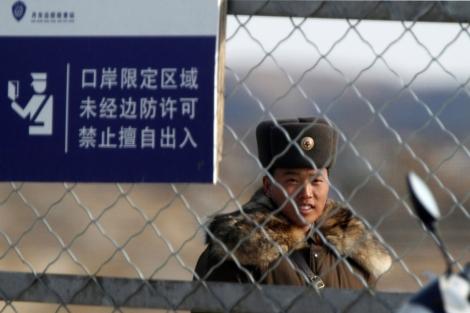 Un soldado en Corea del Norte.  Reuters