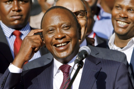 El presidente Uhuru Kenyatta.| Efe