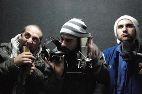 El grupo de rap sirio LaTlateh.