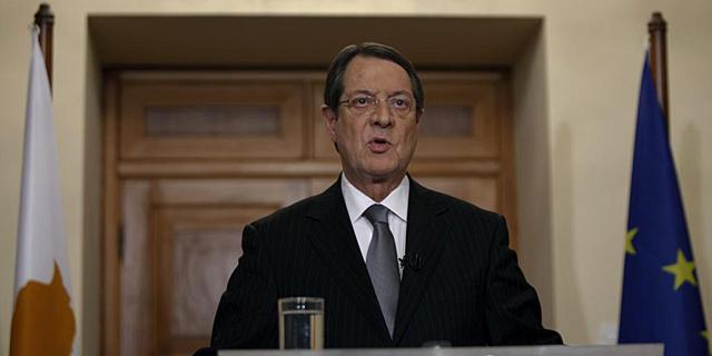 Nicos Anastasiadis, durante una comparecencia reciente.   Reuters