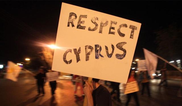 Protesta en Chipre. | Afp