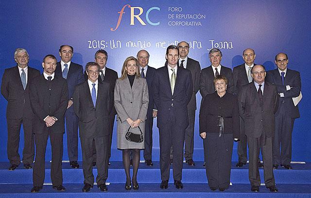 Los Duques de Palma, en el Foro de Reputación Corporativa de 2007. | Foto: EL MUNDO.
