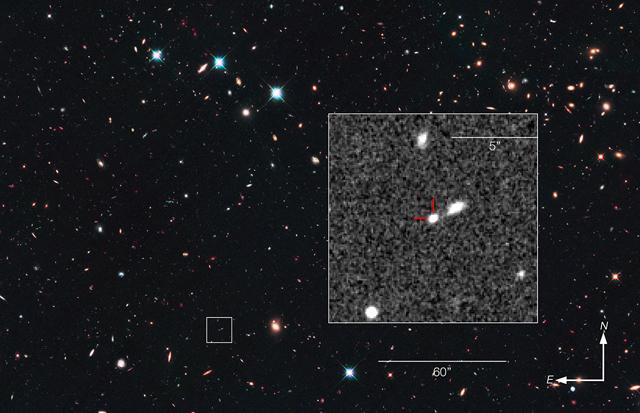 Galaxia con la Supernova Wilson | NASA/ESA/Z. Levay