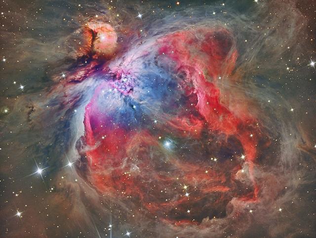 Imagen de la nebulosa desde un observatorio de Alemania. | Reinhold Wittich