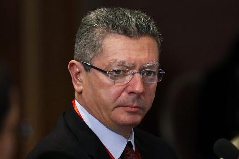 El ministro de Justicia, Alberto Ruiz-Gallardón. | Foto: Efe / Felipe Trueba.