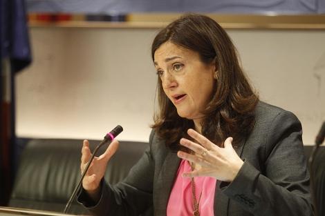 La portavoz parlamentaria del PSOE en el Congreso, Soraya Rodríguez. | Foto: José Aymá.