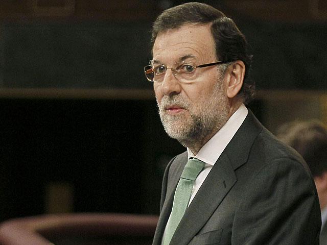 El presidnete Mariano Rajoy, durante su intervención. | Paco Campos / Efe