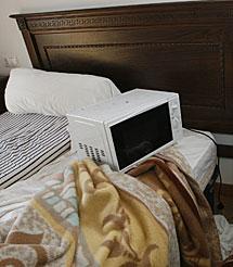 Microondas, en la cama. | A. H.