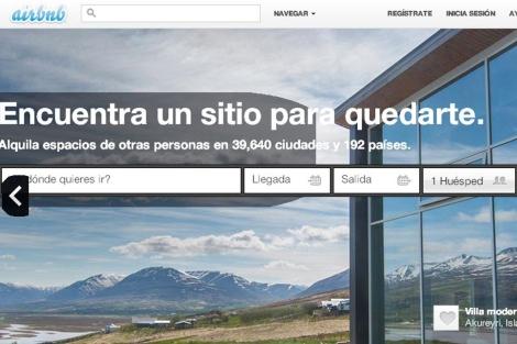 Portales como Airbnb ponen en contacto a los viajeros con los propietarios.