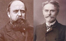 Othniel Charles Marsh y Edward Drinker Cope. | Deadline