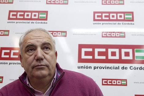 El secretario general de CCOO-Andalucía, Francisco Carbonero. | M. Cubero