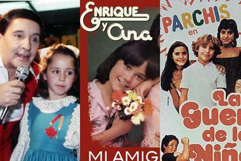 Torrebruno, Enrique y Ana y Parchís, imprescindibles para la época.