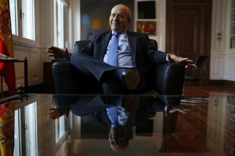 José Ignacio Wert, en su despacho del Ministerio de Cultura.