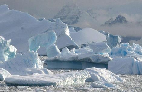 Deshielo en la Península Antártica, en el hemisferio sur.   Nerilie Abram
