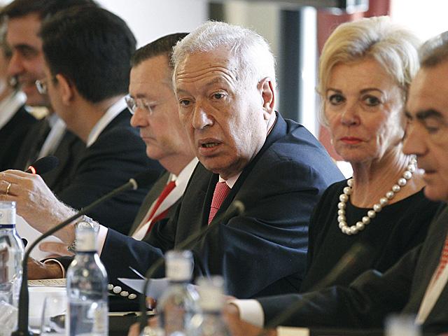 El ministro de Asuntos Exteriores, José Manuel García- Margallo, en la VII Edición del Foro Hispano Alemán. | Ballesteros / Efe