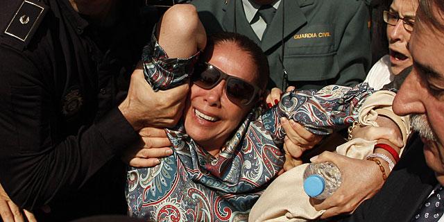 Isabel Pantoja, a su salida del tribunal este martes. | Reuters