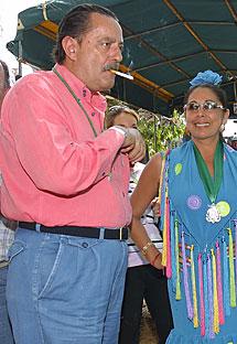 En el Rocío, en 2003. | Gtres