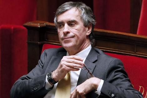 Cahuzac, en una sesión en el Parlamento francés.  Afp