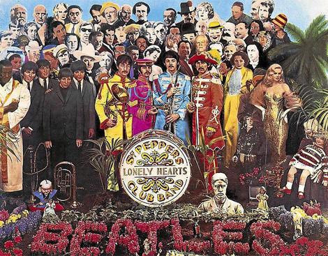 Portada del disco 'Sargent Pepper's Lonely Hearts Club Band' de los Beatles. | EM