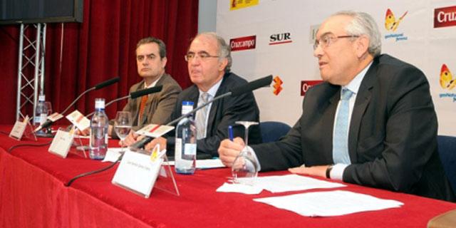 Juan Antonio Vigar, Pedro Pérez y Juan Ramón Gómez. | Nacho Alcalá