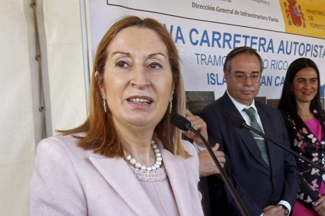 Ana Pastor, ministra de Fomento y responsable estatal de Vivienda.   Efe