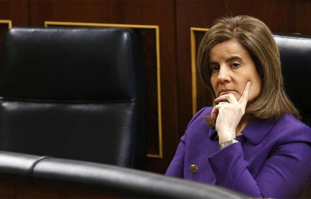 La ministra de Empleo, Fátima Báñez.   Efe