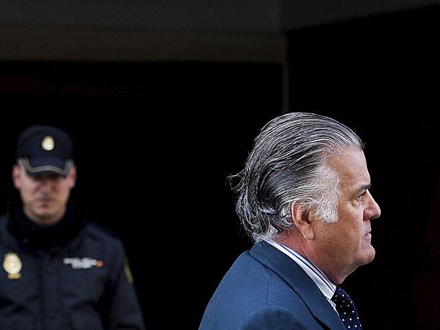 Luis Bárcenas, el pasado 15 de abril al acudir a la Audiencia Nacional a fichar. | Gonzalo Arroyo