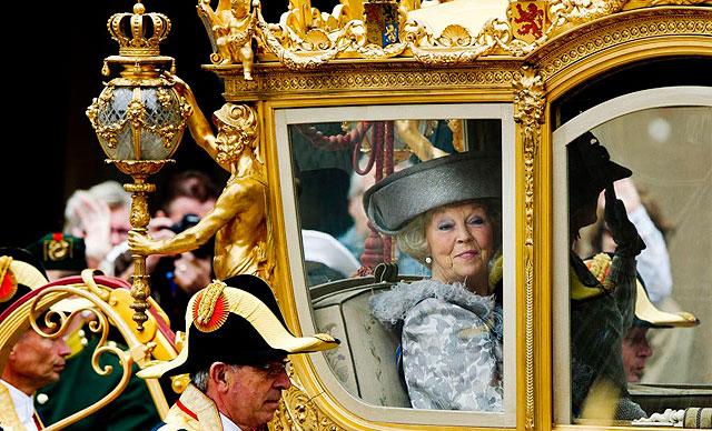 La reina Beatriz de Holanda el pasado mes de septiembre. | Afp
