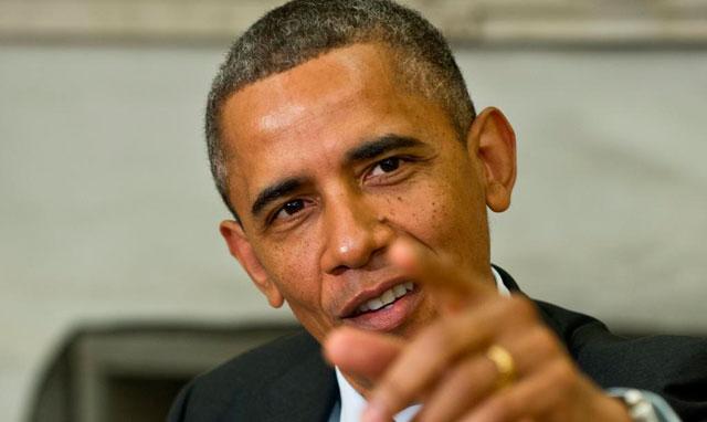 Obama se dirige este viernes a la prensa.| Afp