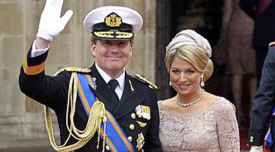 El Príncipe de Holanda y Zorreguieta, en la boda de Guillermo y Kate.