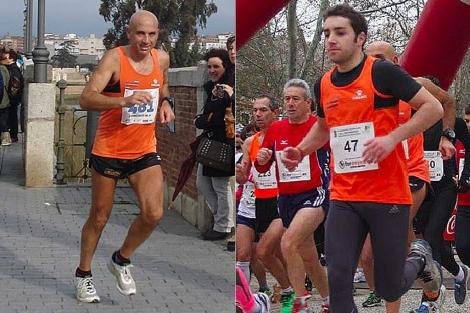 Pedro Toledo (izqda.) y Luis Muñoz, en anteriores carreras. | EL MUNDO