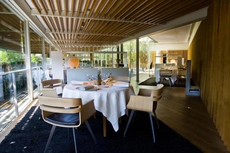 Detalle del restaurante El Celler de Can Roca.   J. Muñoz