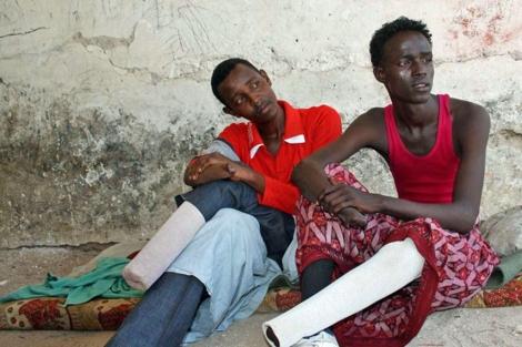 Amputados en Somalia tras ser condenados por robo.  ELMUNDO