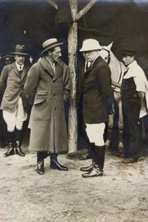 Con Winston Churchill.