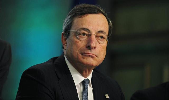 Mario Draghi, presidente del BCE.   Efe