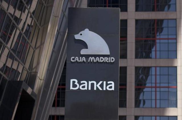 Logo de Bankia en su sede de Madrid. | Reuters