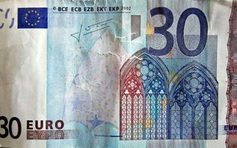 Billete falso de 30 euros | dpa