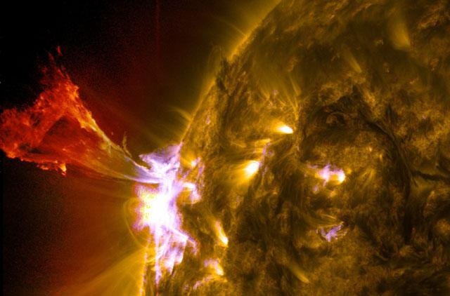 Explosión solar capturada por el SDO. | NASA