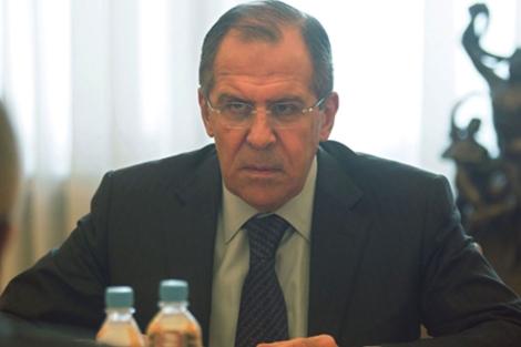 El ministro ruso de Asuntos Exteriores, Serguei Lavrov. | Efe