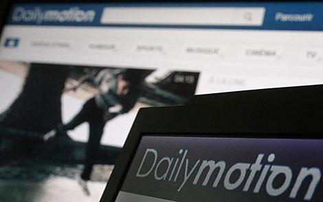Imagen del sitio web Dailymotion