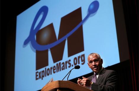Charles Bolden en la conferencia ExploreMars en Washington. | NASA