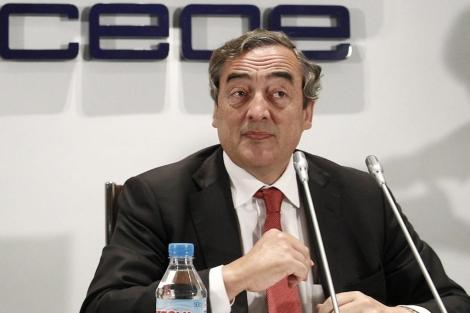 J. Rosell, presidente de la Confederación Española de Organizaciones Empresariales (CEOE). | Efe