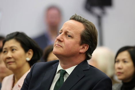 El primer ministro británico, el conservador David Cameron.   Reuters