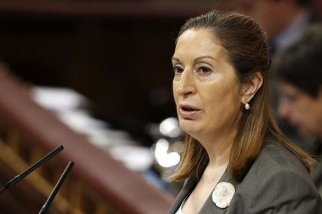 Ana Pastor durante una comparecencia en el Congreso. | Juan Carlos Hidalgo